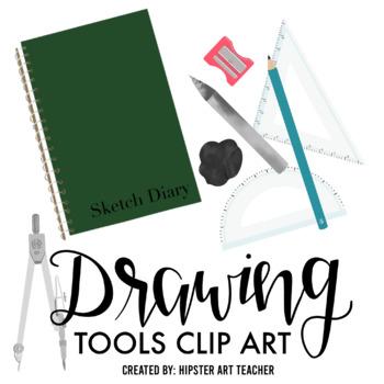Drawing tools clip art