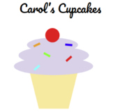 Drawing with Google Slides Lesson 1 - Cupcakes