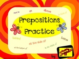 Drawing with Prepositions of Location