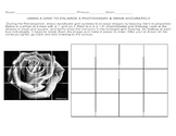 Drawing with a grid Worksheet