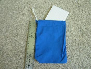 Drawstring Bags for Classroom Organization (Set of 6) Fabric