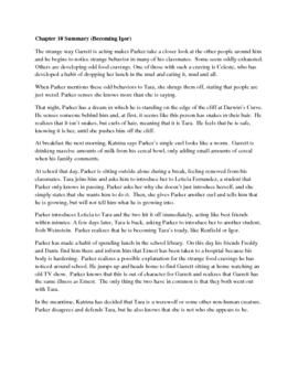 Dread Locks by Neal Shusterman Novel Guide