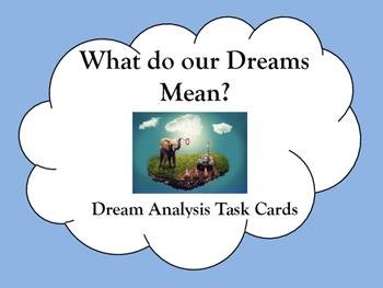 Dream Analysis Activity