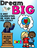 Dream BIG- A Martin Luther King Jr. Unit
