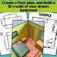 Dream Bedroom Math Project