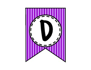 Dream Big Banner - Bulletin Board - Purple