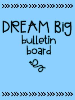 Dream Big Bulletin Board Lettering FREEBIE