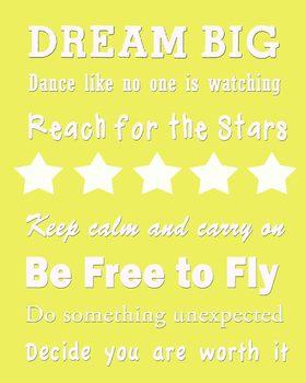 Dream Big Classroom Poster