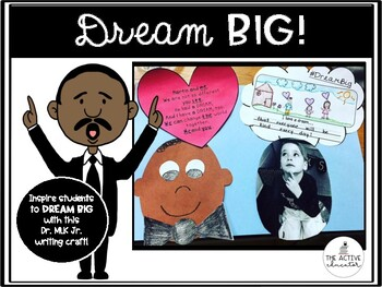 Dream Big!  Dr. Martin Luther King Jr. Craftivity