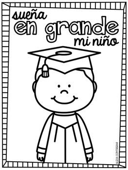 Dream Big! {Graduation FREEBIE in English and Spanish}