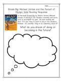 Dream Big Michael Jordan Reading Response Activities