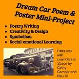 Dream Car Poem and Design Poster Mini-Project