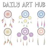 Dream Catcher Clip Art - Great for Art Class Projects!