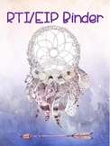 Dream Catcher Theme Binder Covers & Welcome Sign