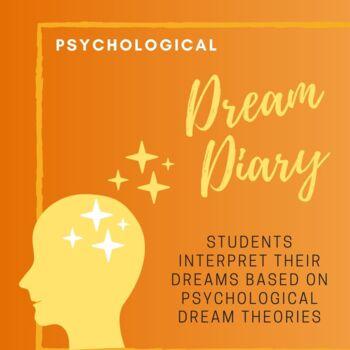 Dream Diary Analysis Activity