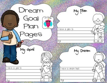 Dream Goal Plan Pages