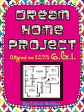 Dream Home Area Project **Aligned to CCSS 6.G.1**