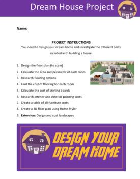Dream House Area Perimeter Project Sheets