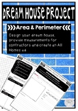 Dream House Design Area and Perimeter Project