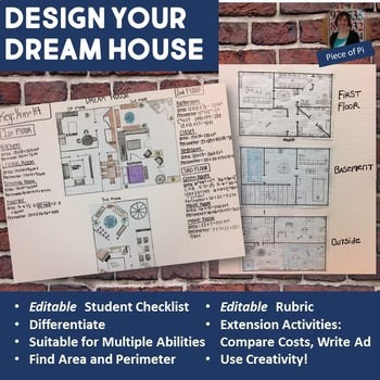 Design A House Math Project on house food project, house physics project, house design project, house art project, house science project,