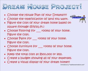 Dream House Enrichment Project - Smartboard
