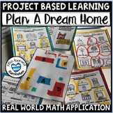 Dream House Math Project Area and Perimeter Project Based Learning 5th Grade