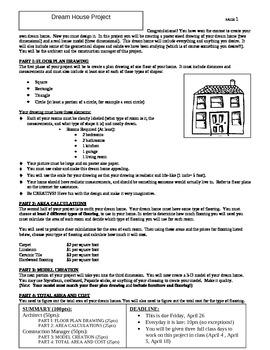 Dream House Project - Geometry/Measurement
