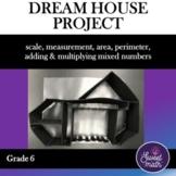 Dream House Project Unit for 6th Grade