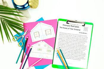 Dream House for Sale - A Descriptive Writing Activity