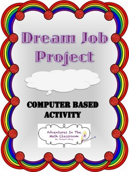 Dream Job Project (Computer Based Activity)