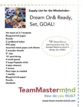 Dream On & Ready, Set, GOAL - a 2-pack Mindwinder bundle!