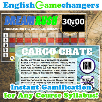 Dream Rush: No Prep Activity Gamifies ANY Syllabus for ANY Class or Content Area