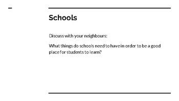Dream School Cross-Curricular Project