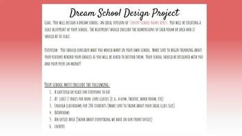Dream School Design Challenge
