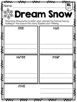 Dream Snow FREEBIE: Read & Respond