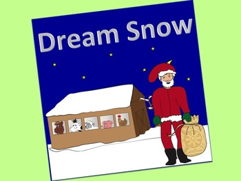 Dream Snow Activity Pack:  simple book, flannel pieces, sequence pieces