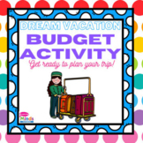 Dream Vacation Math Activity! Can You Stay On Budget?