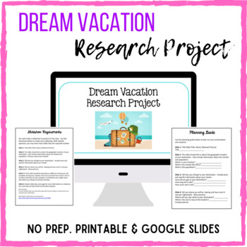 Dream Vacation Research Project