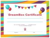 DreamBox Graduate Certificate