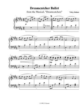 Dreamcatcher Ballet - Piano Solo