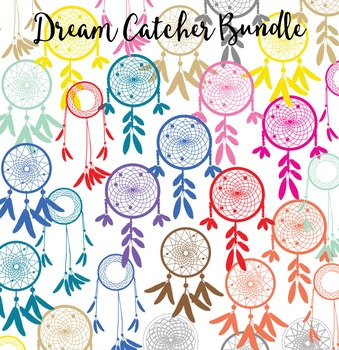 Dreamcatcher Clip Art Bundle