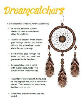 Dreamcatcher - Sweet Dreams - Art Lesson Plan