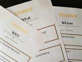Dreamer Creative Writing Curriculum