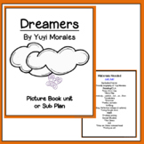 Dreamers by Yuyi Morales Picture Book Unit or sub plan