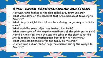 Dreaming of America: An Ellis Island Story Mini Unit