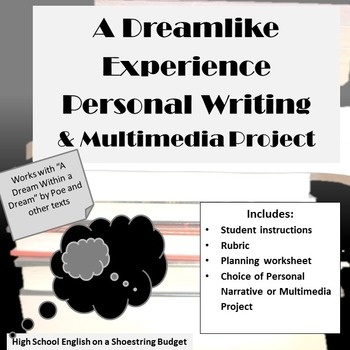 Dreamlike Experience Personal Writing, A Dream Within a Dream or other texts