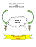 Dreamning Black Boy and Theme for English B lesson