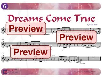 Dreams Come True Flute And Oboe MP3 And PDF Unit 6.