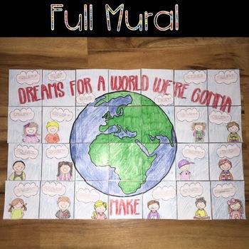 Dreams for the Future Collaborative Mural