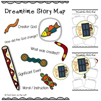 Dreamtime Story Map-Planning